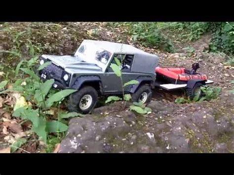 Rc Boat Trailer Launch by Rc Boat Trailer Launch Recovery Axial Scx10 Jeep