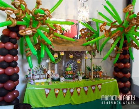 Monkey Party Ideas (collection)  Moms & Munchkins