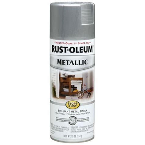 rust oleum  stops rust metallic spray  ounce