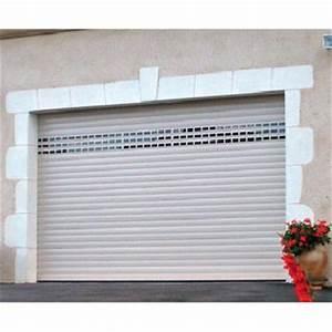 Porte de garage enroulable sur mesure au meileur rapport for Porte de garage enroulable avec prix porte intérieure sur mesure