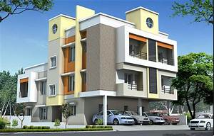 Front, Elevation, Designs, Commercial, Buildings, Top