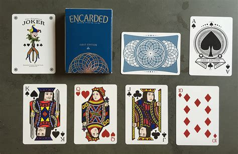 Some of those which have an entry on bgg are listed below. Deck View: Encarded Standard (First Edition) Playing Cards - Kardify