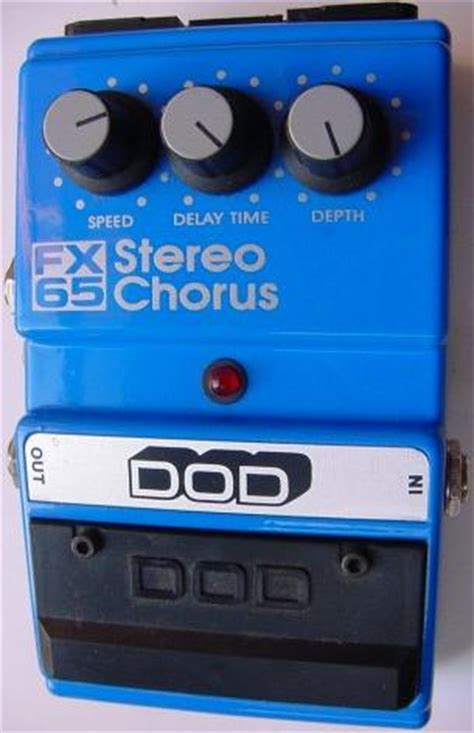 dod fx stereo chorus effects