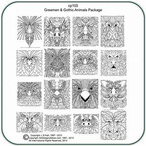 Greenmen, U0026, Gothic, Animals, Patterns, U2013, Classic, Carving, Patterns