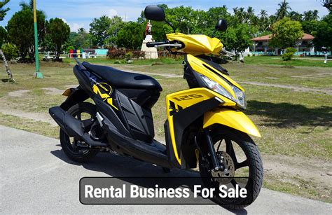 Motorbike Rental Business In Panglao For Sale