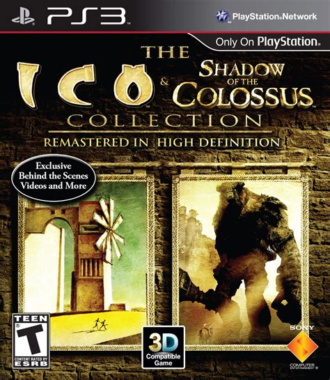Ico And Shadow Of The Colossus Collection Playstation 3 Game