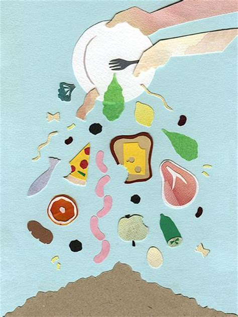 comis cuisine this is a simple food waste poster i like the way it looks