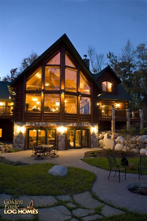 homes with wrap around porches country style golden eagle log and timber homes log home cabin