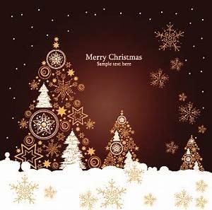 Christmas luxury decor elements vector background Free