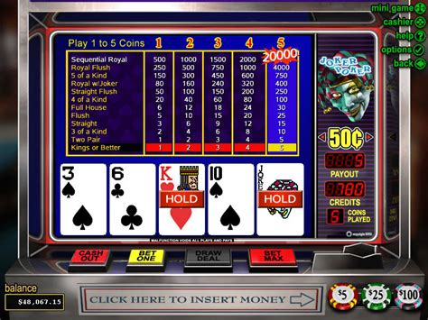 Online Video Poker 2018  Play Real Money Video Poker