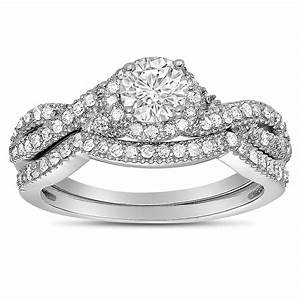 White gold wedding rings for her wedding promise for Diamond wedding rings for her