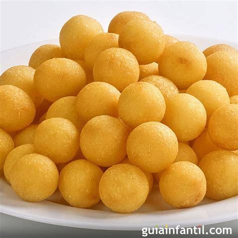 bolitas de patata  queso recetas divertidas  ninos