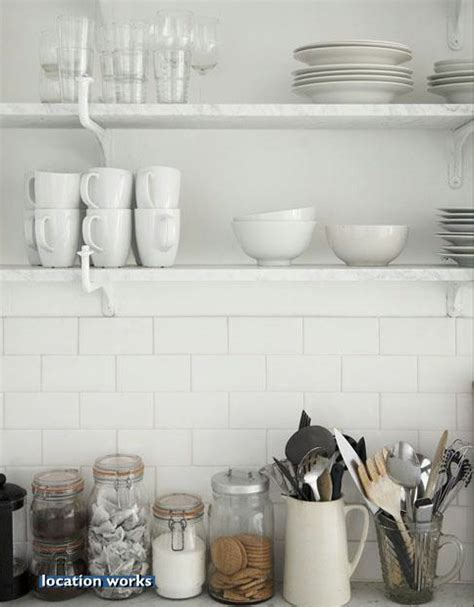 white rectangular kitchen tiles style and design retr 243 tiles cheap and chic 1454