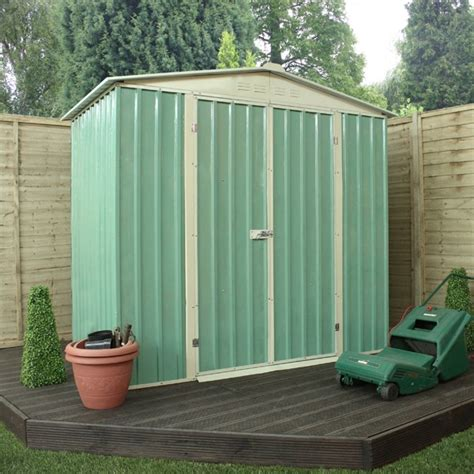 6 X 5 Apex Shed by 6 X 4 Waltons Apex Metal Shed