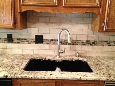 3cm Alaska White Granite With Tile Back Splash