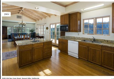 Open Floor Plan Kitchen, Dining, Living  Traditional