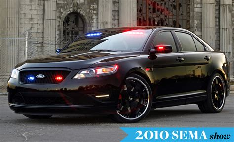 Ford Debuts Stealth Police Interceptor Concept At Sema