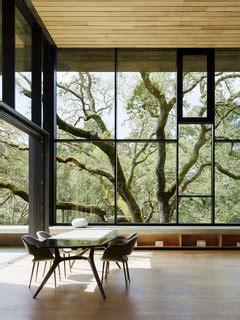 modern homes  floor  ceiling windows dwell