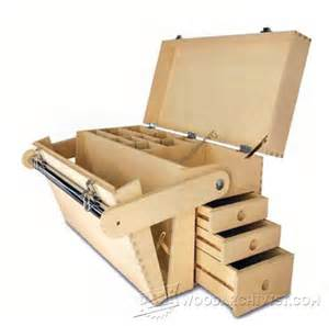 Portable Band Saw Stand by Plywood Tool Chest Plans Woodarchivist