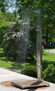 Wasserhahn Für Garten : ideal elba modell 70 gartendusche f r kalt und warmwasser mit kopf k rper und handdusche ~ Watch28wear.com Haus und Dekorationen