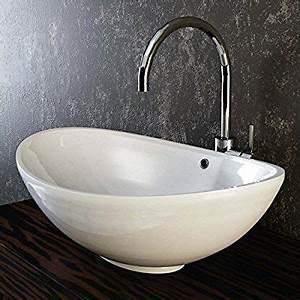 Waschbecken Oval Aufsatz : die besten 17 ideen zu keramik waschbecken auf pinterest waschbecken glas sp lbecken keramik ~ Frokenaadalensverden.com Haus und Dekorationen