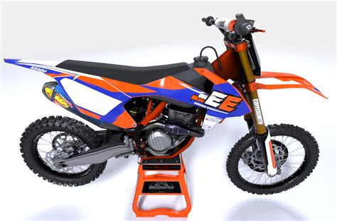 ktm enduro engineering team motocross graphics bikegraphix