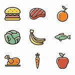 Clipart Icon Icons Healthy Meal Vegetables Vegetable