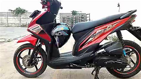 Modifikasi Honda Beat Fi by Koleksi Ide Modif Honda Beat Fi Touring Terbaru Botol