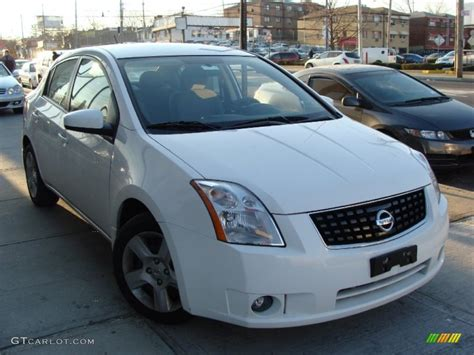 nissan 2008 white 2008 fresh powder white nissan sentra 2 0 s 77270767