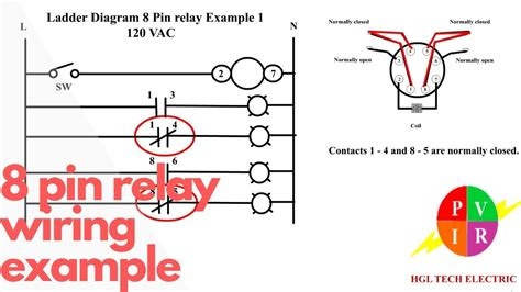 Pin Relay Wiring Connection