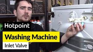 How To Replace The Cold Water Valve On A Hotpoint Washing