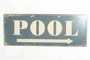 Blechschilder Sprüche Vintage : blechschild pool schwimmbad beach bar kneipe pub ~ Michelbontemps.com Haus und Dekorationen