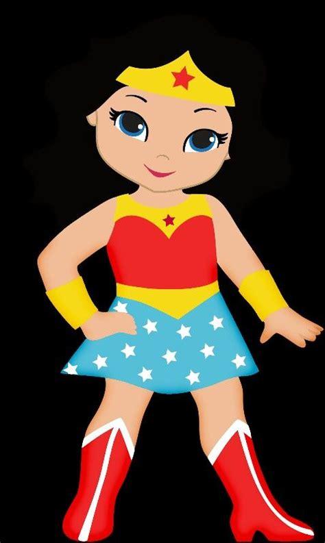girl superheroes clipart    girl