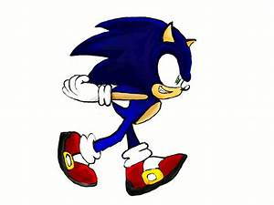 Sonic Running Super Fast | www.pixshark.com - Images ...