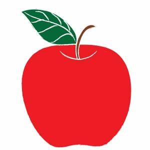 Red Apple Clip Art - ClipArt Best