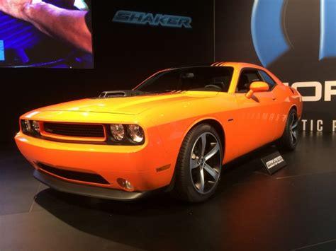 20112019 Dodge Challenger Oem Shaker Hood