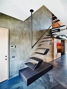 Escalier, Design, Pour, Un, Int, U00e9rieur, Moderne