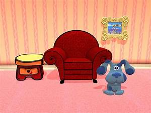 Character art mega chromatic for Blues clues living room background