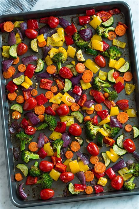 vegetables roasted baked oven recipe roast sheet healthy vegetable cook cooking cooked baking different steak salmon vegan meat chicken without