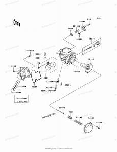 Kawasaki Atv 2006 Oem Parts Diagram For Carburetor  Parts