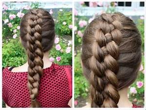 Dutch 4-strand braid tutorial - HairAndNailsInspiration ...