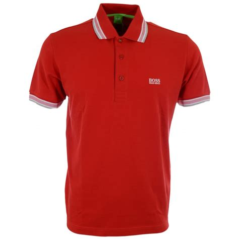 hugo green paddy modern fit pique polo hugo from n22 menswear uk