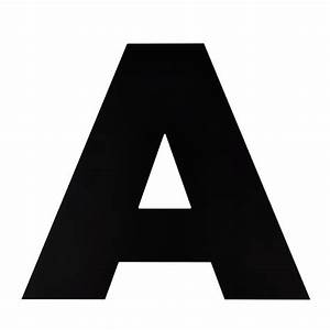 Not giant enough letter a the land of nod for Giant letter a