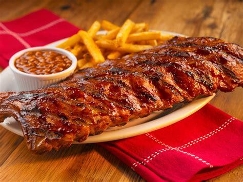 how to bbq ribs barbecue ribs recipe dishmaps