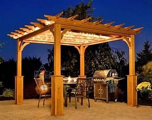 Pergola Aus Holz FUr Terrasse