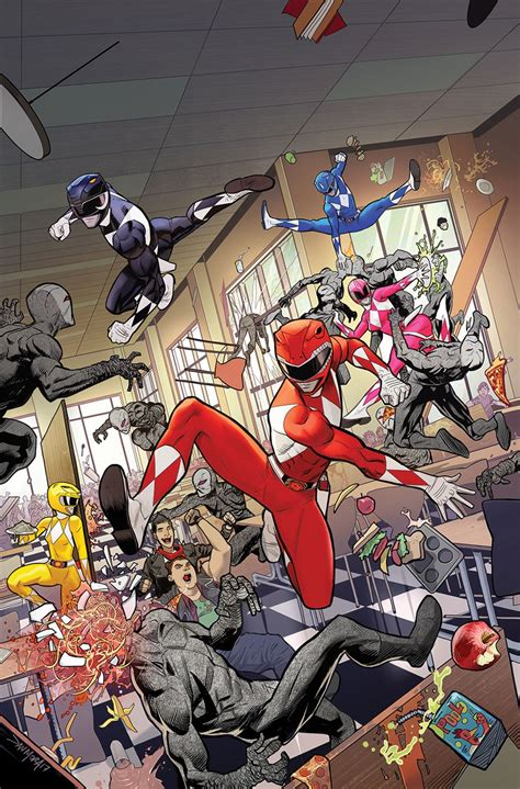 power rangers  covers synopsis released