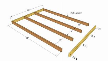 Playhouse Plans Floor Wooden Shed Simple Frame
