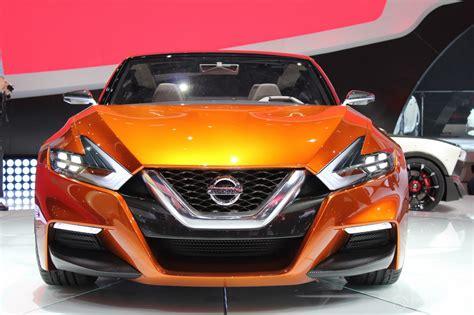 2018 Naias Live Nissan Sport Sedan Concept