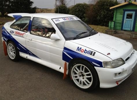 bargain rally dream  ford escort rs cosworth  st
