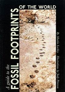 A Guide To Fossil Footprints Of World By Martin Lockley